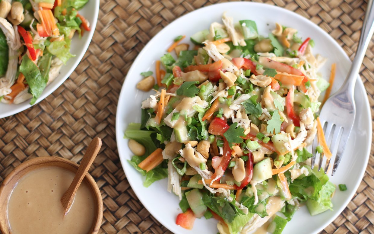 chopped-chicken-salad-thai-peanut-dressing